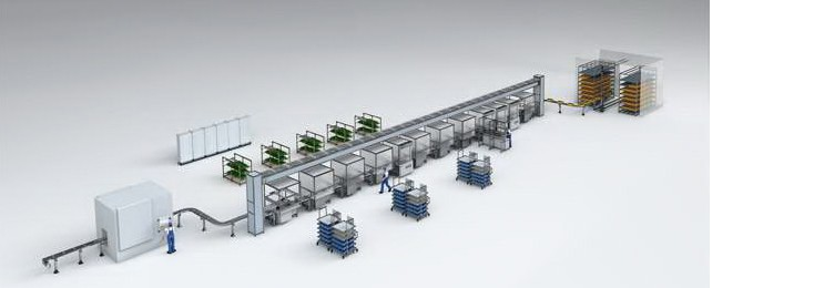 Bosch Rexroth automated assembly line