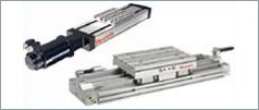 Electric and pneumatic linear modules