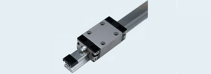Ball track guidance, linear motion technology for cutting machines
