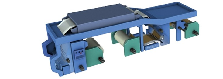 Graphic of a Rexroth laminating machine