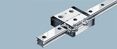 Cam roller guides for wafer stage handling