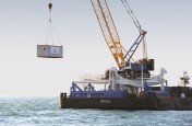 Motion compensated platform offshore