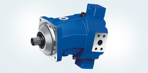Axial piston motor for winches