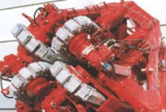 Tensioner drive of a pipeline-laying system
