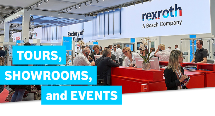 Bosch Rexroth Tours, Showrooms and Events