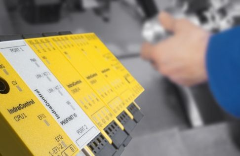 Shop floor efficiency with machine safety