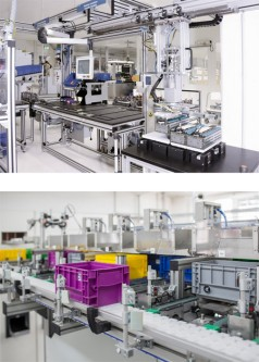 Ready for Connected Automation: TSplus and VarioFlow plus conveyor systems