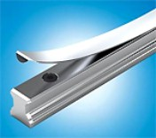 Cover Strip for Profiled Rail Systems: Cuts Assembly Costs and Protects Seals