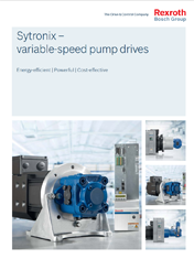 Sytronix – variable-speed pump drives