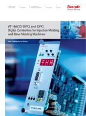 VT-HACD-DPQ and DPC Digital Controllers for Injection Molding and Blow Molding Machines
