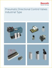 trCD04 Pneumatic Directional Control Valves