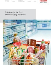 Rexroth Automation Technologies for Food and Packaging Industries Highlighted in New Brochure Series