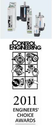 Rexroth Compact Servo Drive Wins Engineers' Choice Award from Control Engineering magazine