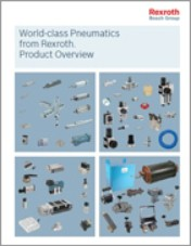 Standard and custom pneumatic solutions overview from Bosch Rexroth