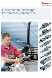 AATExpo 2011: New Linear Motion Technology selection guide from Rexroth features product details and