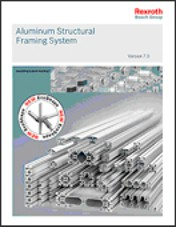 ATX West 2012: New Aluminum Structural Framing Catalog Available from Rexroth