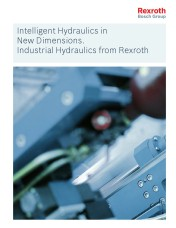 Rexroth unveils solutions for industrial hydraulics in new brochure