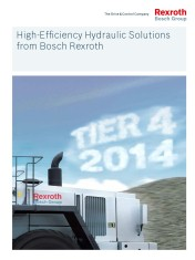 New solutions for TIER 4 Final emissions standards outlined in new Rexroth mobile equipment brochure