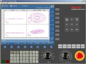 Powerful PC-based demo software supports CNC training, simulation, testing and transfer of CNC