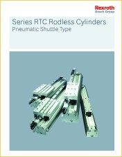 New Series RTC Rodless Cylinders Catalog