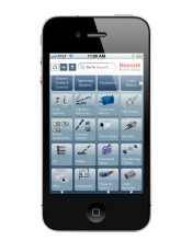 MINEXPO 2012: Rexroth's GoTo quick delivery program adds new iPhone app for mobility