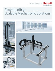 New Rexroth EasyHandling brochure describes innovative approach to designing and implementing handli