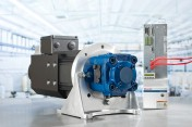IMTS 2012: Sytronix variable speed hydraulic drives integrate easily