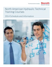 Hydraulics Technical Training Courses Available in 2014