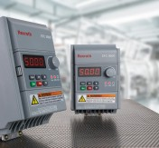The electronic frequency converter series EFC 3600 by Rexroth offers an economic solution