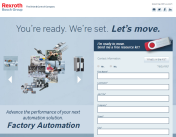 Bosch Rexroth Factory Automation microsite