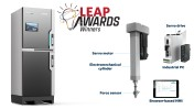 Bosch Rexroth takes home Silver and Bronze LEAP Awards for top hydraulics and mechanical products