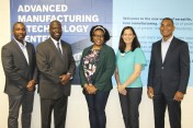 Charlotte-Mecklenburg officials and Bosch Rexroth executives gathered to celebrate the partnership.
