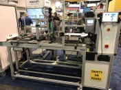 Bosch Rexroth multiple technology demos and exhibits