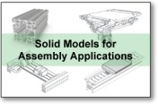 Solid Models for Assembly Applications