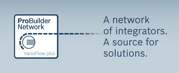 A network of integrators. A source for solutions.