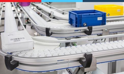 Plastic Chain Conveyor VarioFlow plus | Rexroth Assembly Technology