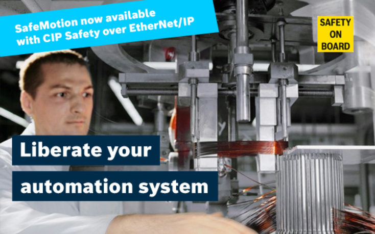 Rexroth Safety technology - Free your automation system