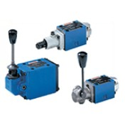 4WMM & 4WMR – Directional spool valves, direct operated with manual actuation