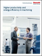 Higher productivity and energy efficiency in machining