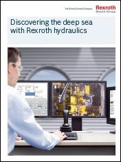 Discovering the deep sea with Rexroth hydraulics