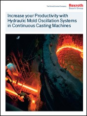 Increase your Productivity with Hydraulic Mold Oscillation Systems in Continuous Casting Machines