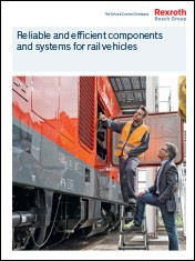 Reliable and efficient components and systems for rail vehicles