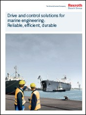 Drive and control solutions for marine engineering: Reliable, efficient, durable