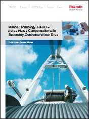 Marine Technology: RAHC - Active Heave Compensation with Secondary-Controlled Winch Drive