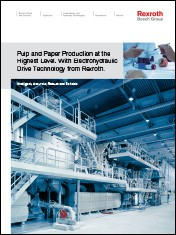 Pulp and Paper Production at the Highest Level. With Electrohydraulic Drive Technology from Rexroth.