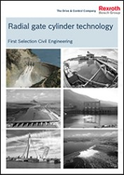 Radial gate cylinder technology, First Selection Civil Engineering