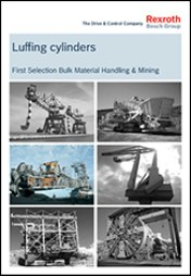 Luffing Cylinders, First Selection Bulk Material Handling & Mining