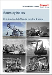 Boom Cylinders, First Selection Bulk Material Handling & Mining