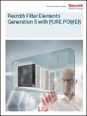 Rexroth Filter Elements - Generation 5 with PURE POWER