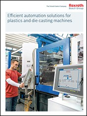 Efficient automation solutions for plastics and die casting machines